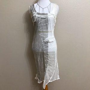 Jil Sander 100% silk dress